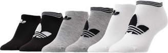 adidas Men's 6-Pack Big Trefoil PK No-Show Socks