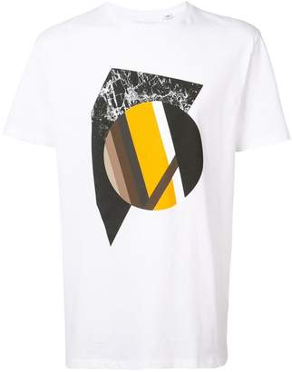 Neil Barrett abstract print T-shirt