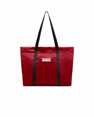 Hunter NYLON TOTE - MILITARY RED