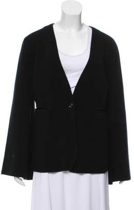 Allude Wool and Cashmere Blend Cardigan