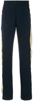 Aviu side stripe track pants