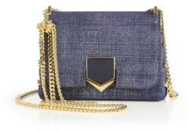 Jimmy Choo Lockett Petite Denim Crossbody Bag