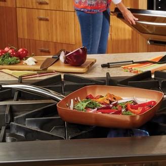 """Copper Chef Cerami-Tech 11"""" Non-Stick Square Fry Pan"""