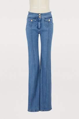 Balmain Wide leg jeans