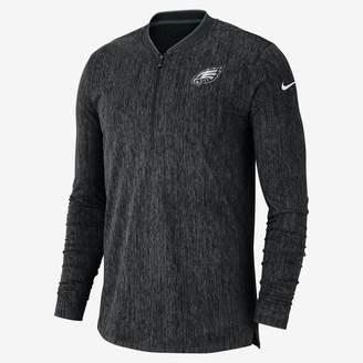 Nike Coach (NFL Eagles) Men's Half-Zip Long Sleeve Top