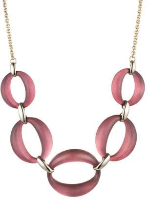 Alexis Bittar Large Link Lucite(R) Necklace