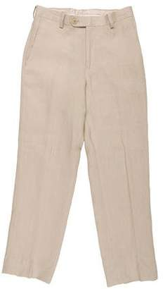 Lauren Ralph Lauren Mid-Rise Linen Pants