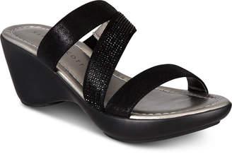 Karen Scott Paulah Wedge Sandals