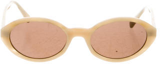 Paul Smith Marlbled Gradient Lens Sunglasses $50 thestylecure.com