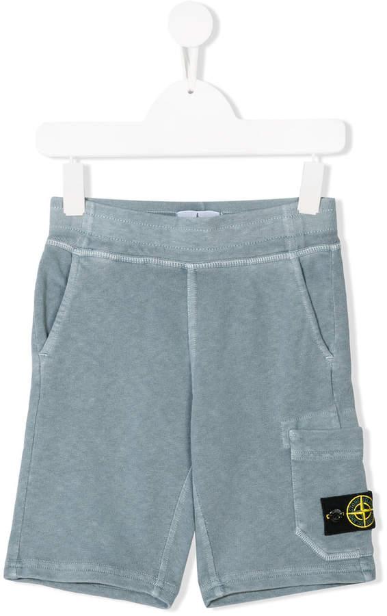 Stone Island Junior track shorts