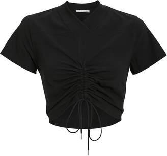 Alexander Wang High Twist Cropped T-Shirt