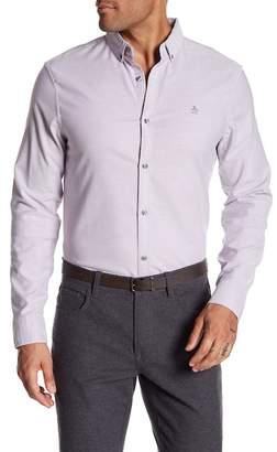 Original Penguin Long Sleeve Basic Oxford Heritage Slim Fit Shirt