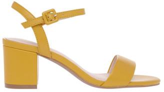 Basque Roma Mustard Leather Sandal