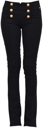 Balmain Black Flared Jean