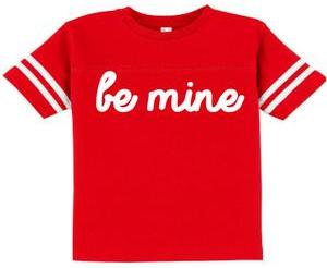 Ily Couture Kids Be Mine Tee $24 thestylecure.com