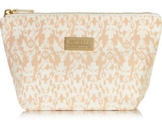 Aurelia Probiotic Skincare Signature Printed Cotton-canvas Cosmetics Case - Peach