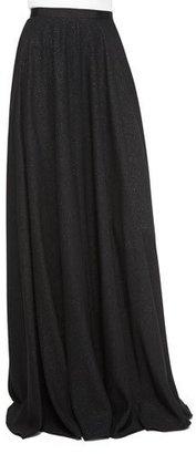 Jenny Packham Glitter Crepe Full Skirt, Black $2,250 thestylecure.com