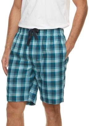 Van Heusen Men's Plaid Sleep Shorts