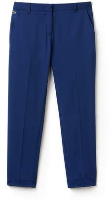 Lacoste Women's SPORT Golf Pleated Tech Gabardine Pants