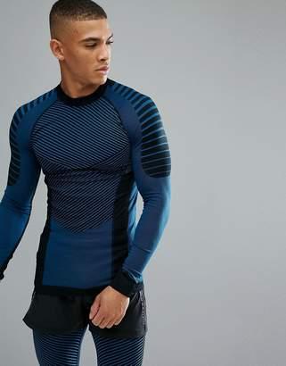 Craft sportswear active intensity long sleeve top in black 1905337-999336
