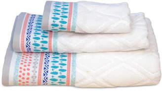 Dena Home Boho Cotton Jacquard Fingertip Towel