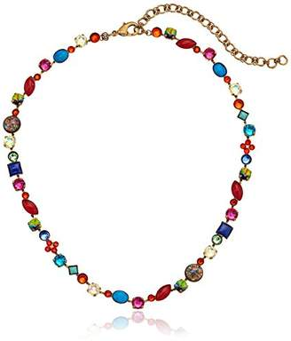 """Sorrelli Southwest Brights"""" Classic Tee-Shirt Necklace"""