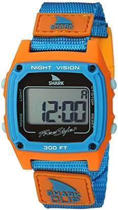 Freestyle Unisex 10026747 Shark Clip Digital Display Japanese Quartz Blue Watch
