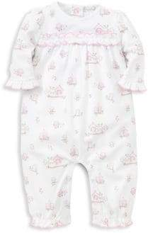 516d549bac ... Kissy Kissy Baby Girl s Wonderfully Wise Print Playsuit