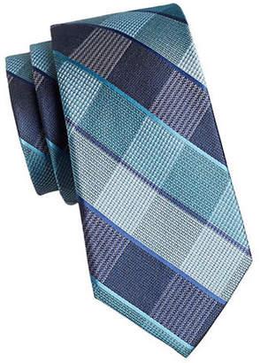 MICHAEL Michael Kors Subway Plaid Silk Tie