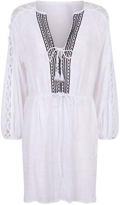 Seafolly Embroidered Kaftan