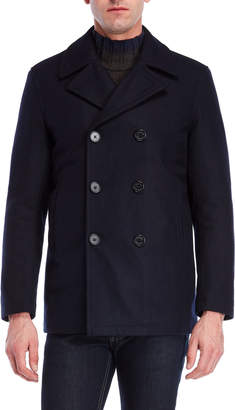 Nautica Double-Breasted Peacoat