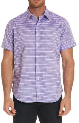 Robert Graham Avenida Classic Fit Jacquard Sport Shirt