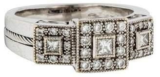 Charriol Flamme Blanche Diamond Ring