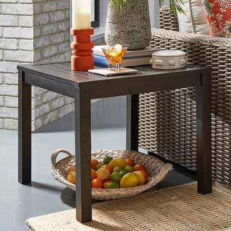 Homevance HomeVance Borego Aluminum Patio End Table