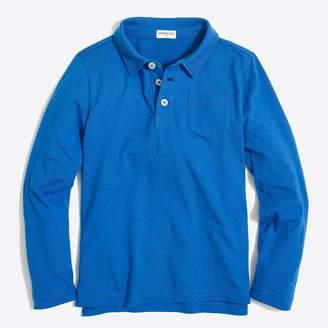 J.Crew Boys' long-sleeve polo shirt