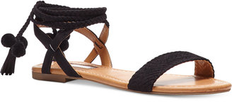 Inc International Concepts Women's Ganice Popsicle Collection Two-Piece Lace-Up Sandals, Only at Macy's Women's Shoes $79.50 thestylecure.com