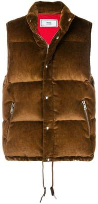 Ami Alexandre Mattiussi Quilted Down Vest