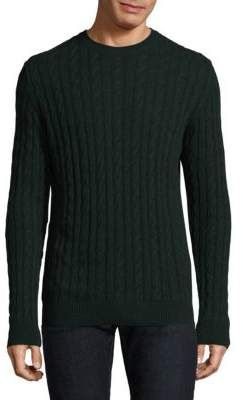 Barbour Cable-Knit Wool-Linen Sweater