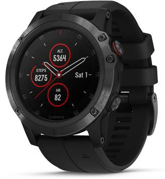 Garmin fenix(R) 5x Plus Sapphire Premium Multisport GPS Watch, 42mm