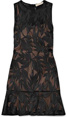 MICHAEL Michael Kors Lace Mini Dress - Black