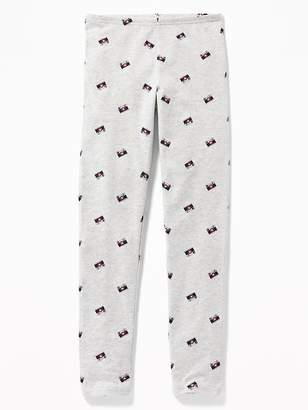 Old Navy Graphic Full-Length Jersey Leggings for Girls
