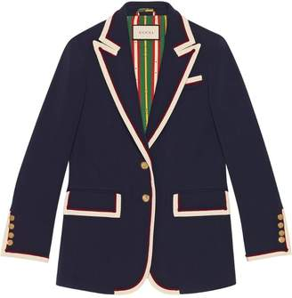 Gucci Stretch viscose jacket