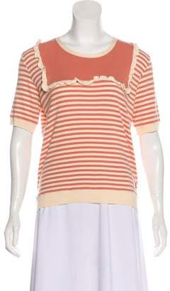 Sonia Rykiel Sonia by Knit Short Sleeve Top