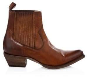 Frye Sacha Leather Chelsea Boots