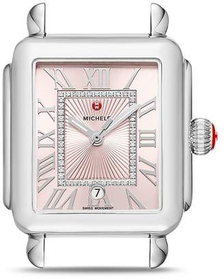 Michele Deco Madison Watch Head, 33mm x 46mm - 100% Exclusive