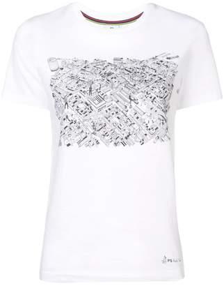 Paul Smith Covent Garden Map T-shirt