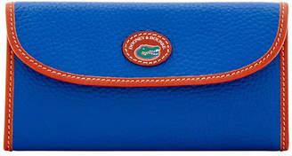 Dooney & Bourke Florida Gators Pebble Continental Clutch