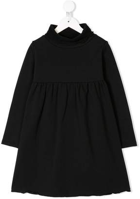 Douuod Kids flared turtleneck dress