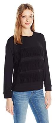 Joie Women's Barata Fringe Sweatshirt