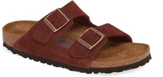 Birkenstock 'Arizona' Soft Footbed Suede Sandal